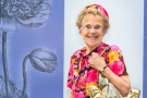 Brenda Franklin celebrates her 90th Birthday at Chelsea Flower show 2014