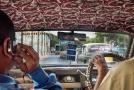 Delhi taxi, India