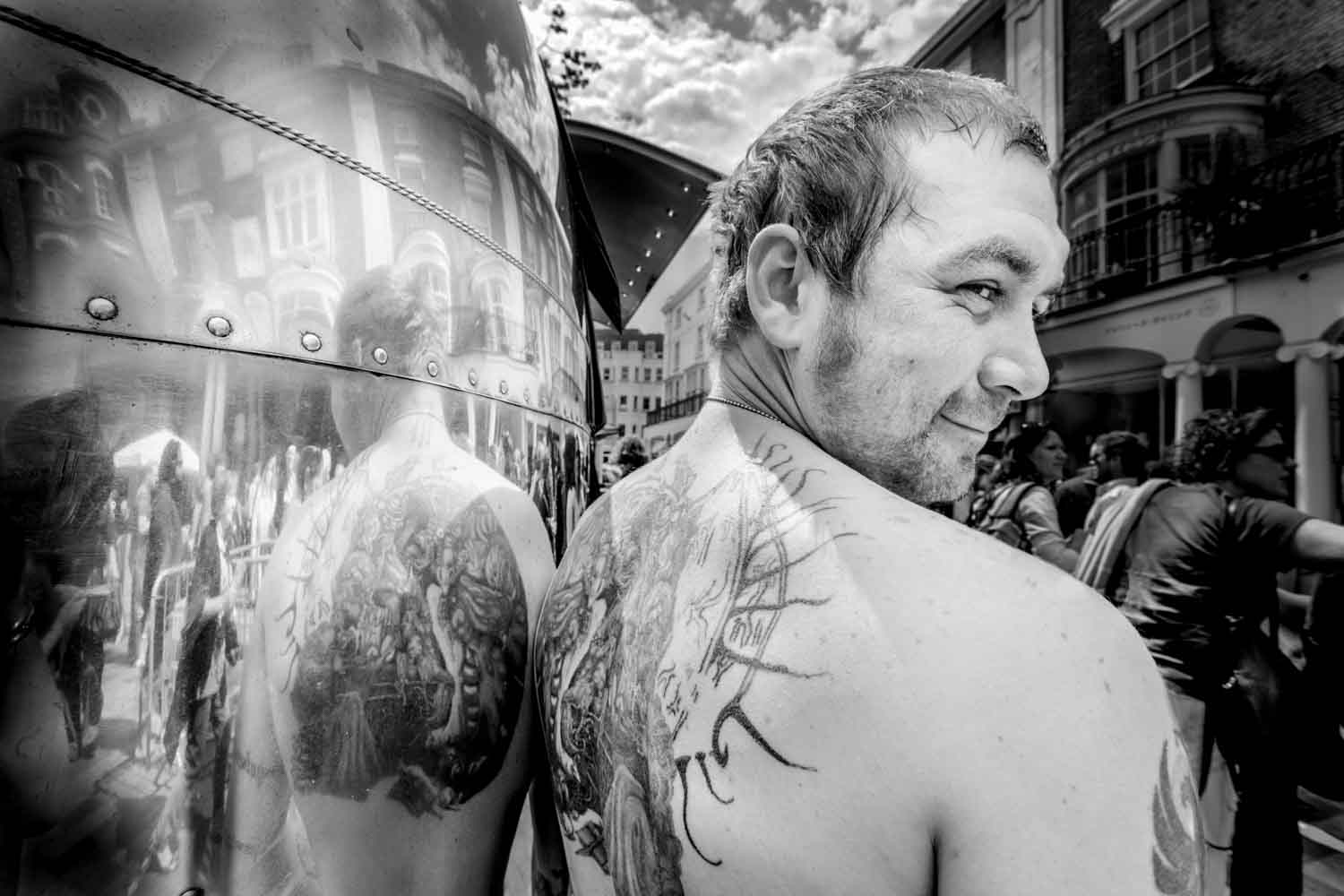 Tattooed Man Brighton Fringe