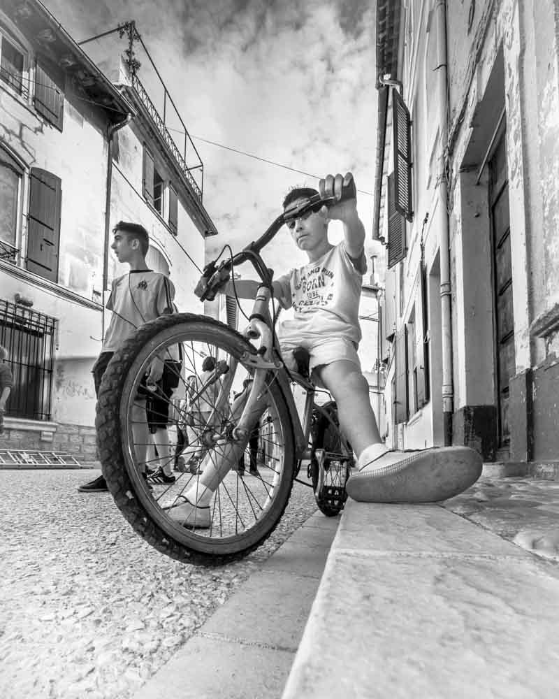 Boys in Arles