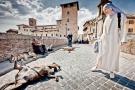 Nun and Dog Rome