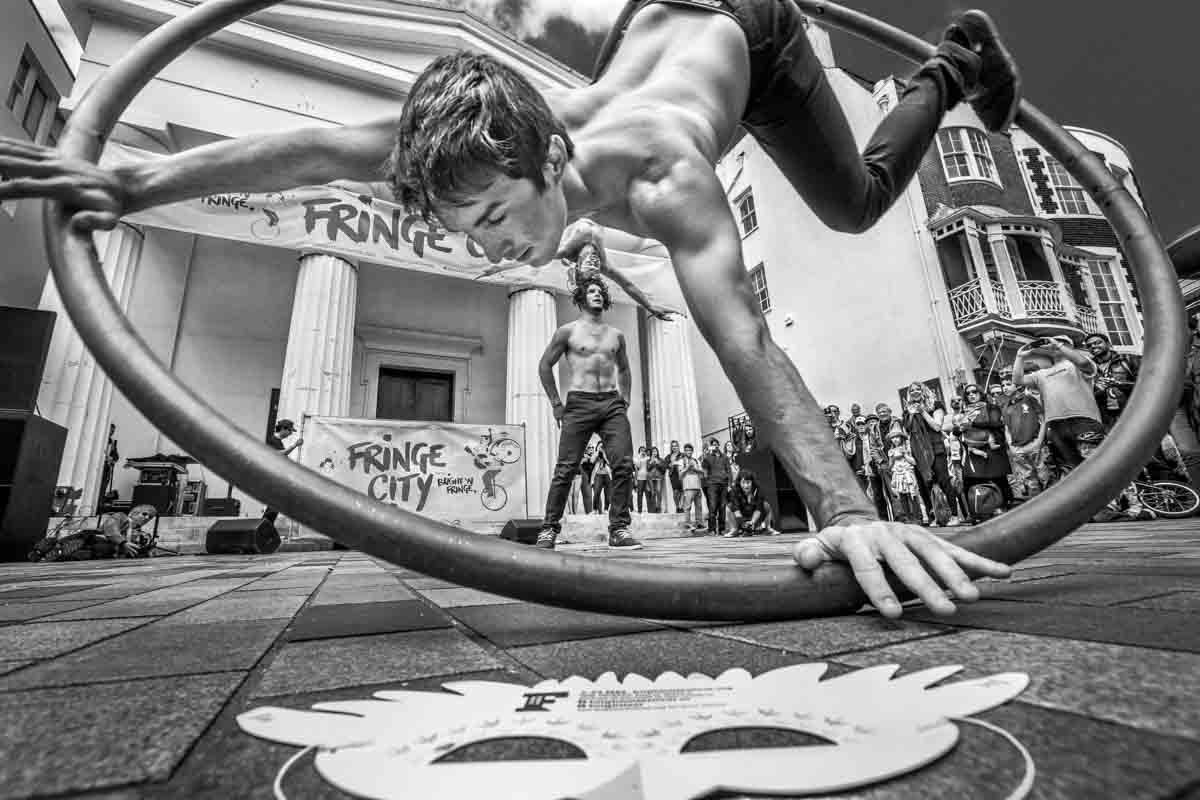 Head Firrst Acrobats, Brighton Fringe City