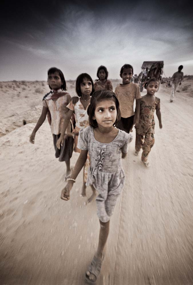 Children of the Desert - India