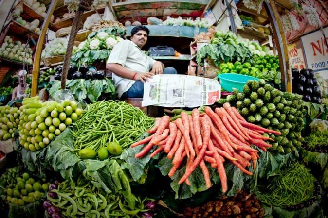 Crawford Market, vegetable market, Mumbai, India